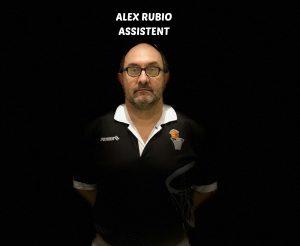 ALEX RUBIO -ENTRENADOR ASSISTENT