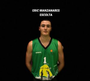 ERIC MANZANARES - #1 – ESCOLTA – 184cm