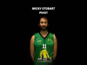 MICKY STOBART – #11 – PIVOT – 206cm