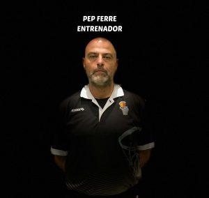 PEP FERRE -ENTRENADOR